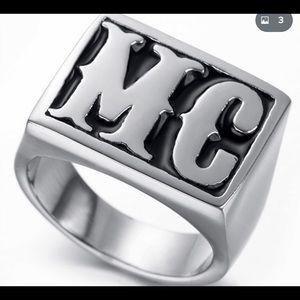 MC Biker Ring NEW